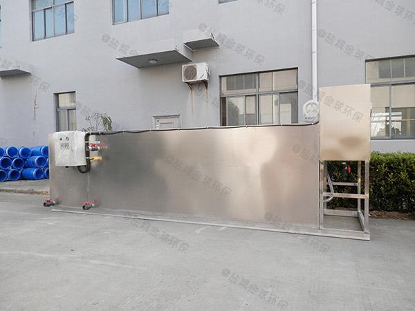 工廠食堂地面式智能隔油凈化設備制造商