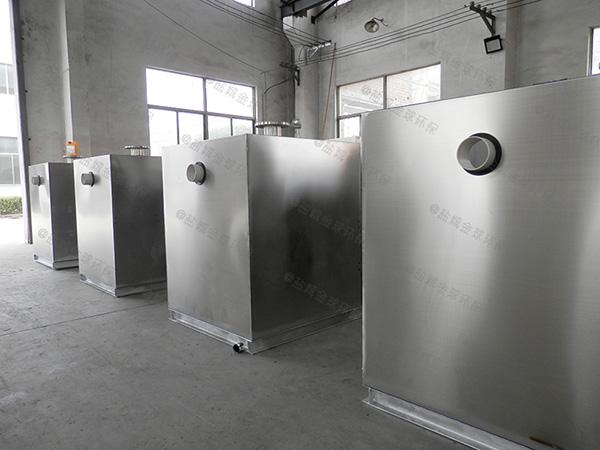 商用地面式智能化成品隔油池如何使用