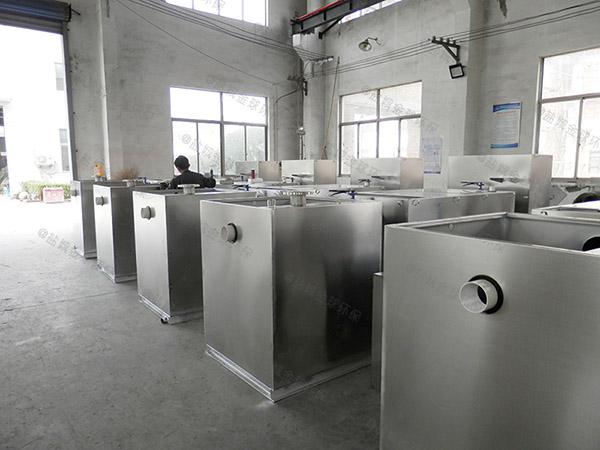 工地大型地埋式簡易一體化隔油池處理設備安裝合同