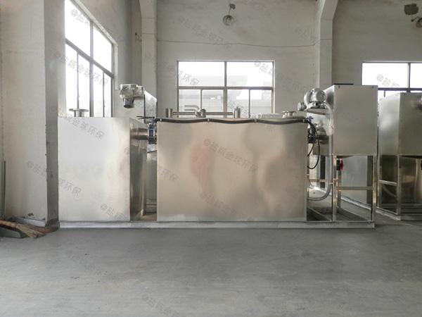 食堂地面式中小型全自動一體化隔油提升裝置設計計算