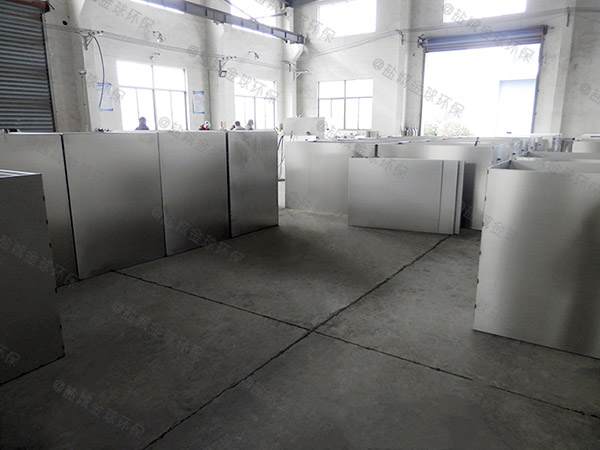 飯店地下式大全自動智能型隔油處理設備生產廠