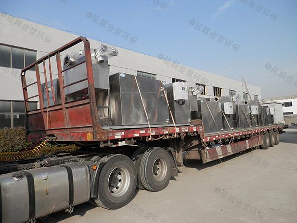 工程大型全能型提升隔油一體化設備設計方案