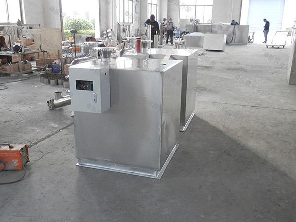 餐飲業中小型地面機械一體式隔油器處理電話