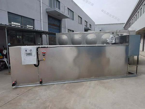 餐廳地面式簡易油水分離處理裝置怎么裝