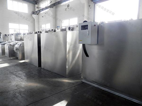 小區中小型地下式多功能一體隔油提升設備生產廠