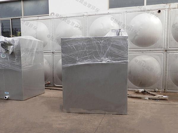 工地食堂大地上自動化水處理油水分離器的去除效率