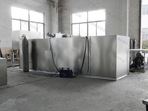 廚房地面式大型自動提升隔油提升一體化設備如何