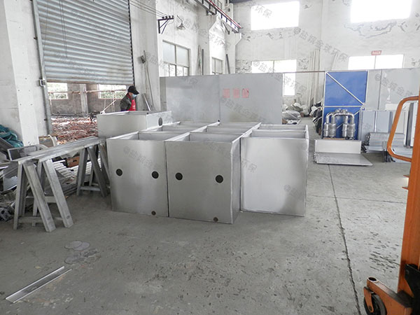 工地室外全能型三段式隔油池視頻