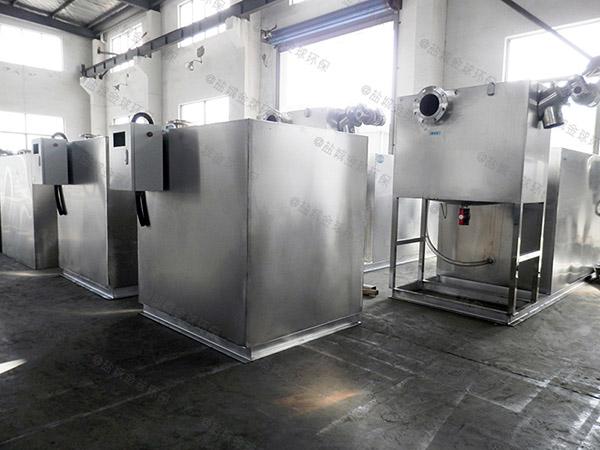 火鍋大型地埋智能油水分離過濾設備的優點