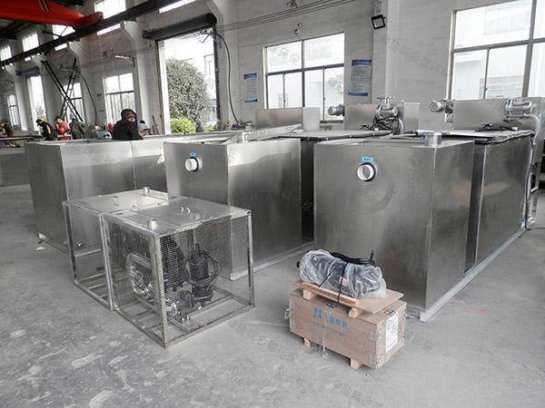 餐飲商戶地面式移動氣浮式油水分離機安裝方法