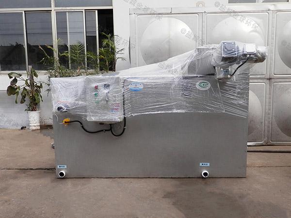 飯館地下式大自動化成品隔油設備正確安裝