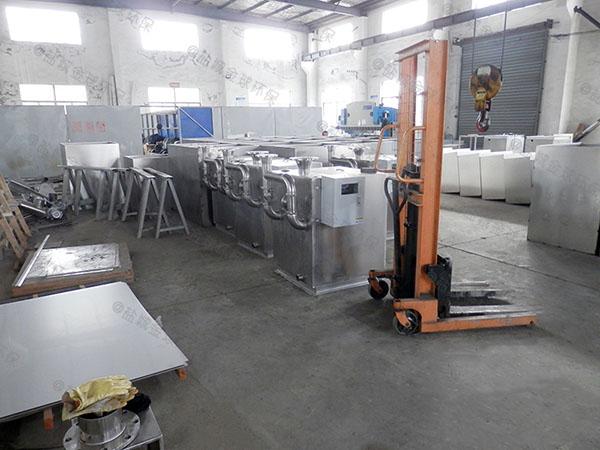 食堂用大室外全能型隔油過濾器的組成