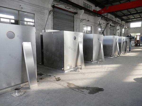 餐飲商戶大全能型一體化隔油池設備適用行業