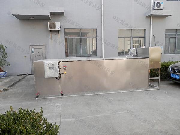 居家用地埋分體式油水處理設備重量