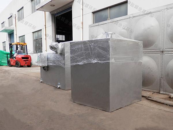 后廚中小型地面式自動提升隔油污水提升設備是什么