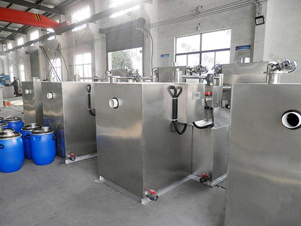 餐飲商戶大型地面式自動排水污水處理隔油池排行