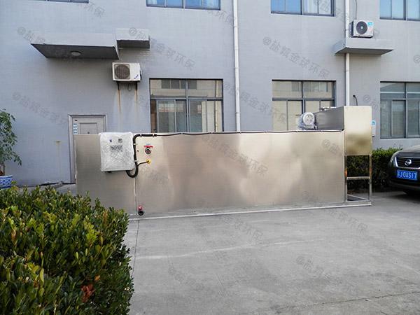食堂地上式無動力油水分離處理機器型號選擇