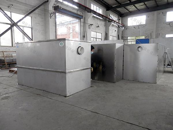 小區埋地式大型半自動油水分離器與隔油池怎樣安裝