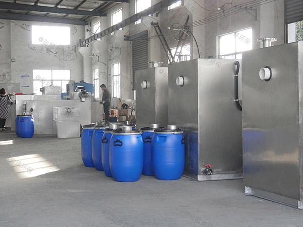 火鍋專用戶外大全自動智能型三級油水分離器結構圖