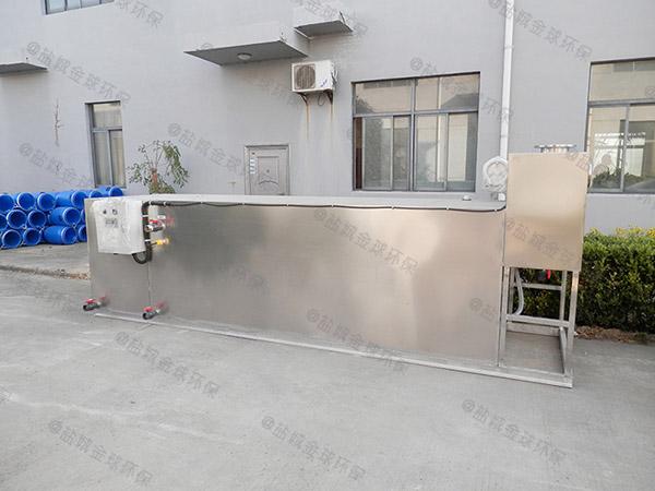 住宅樓戶外自動排水油水分離處置設備品牌