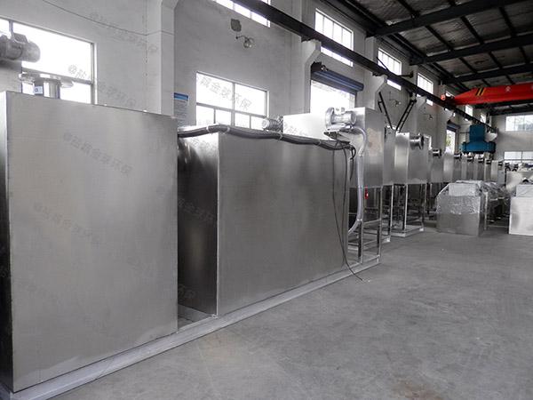 火鍋專用埋地式大半自動隔油池設備設計規范