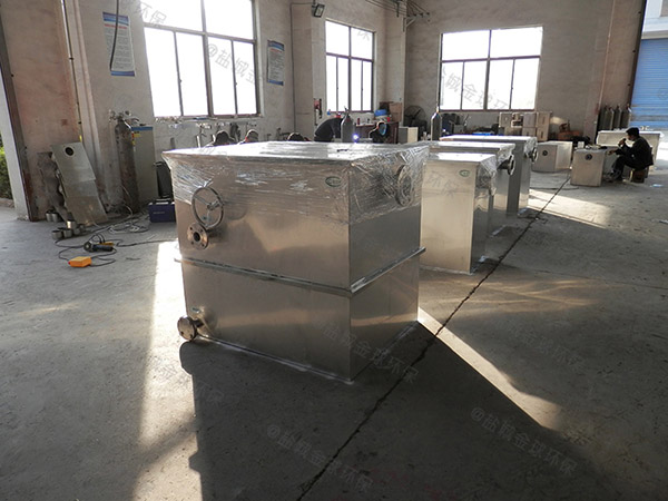 廚下型地埋自動提升氣浮隔油池檢驗