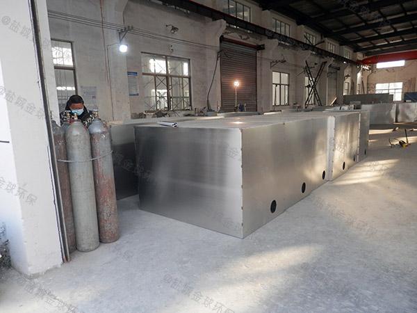 購物中心室內中小型智能型一體化隔油池處理設備生產廠商