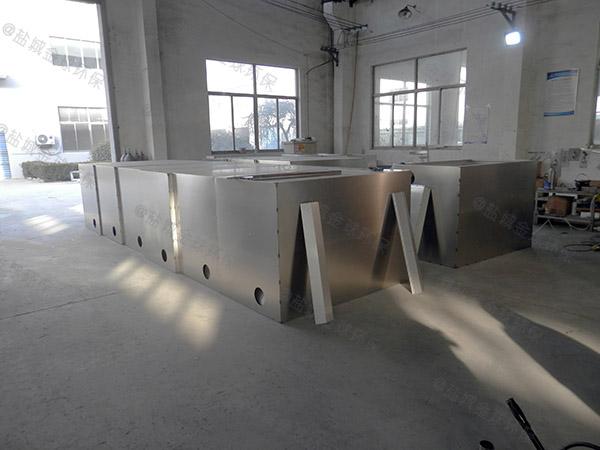 商場餐飲埋地式大型簡易油水渣分離器廠家供應