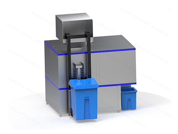 日处理5吨餐饮垃圾减量处理机器定制