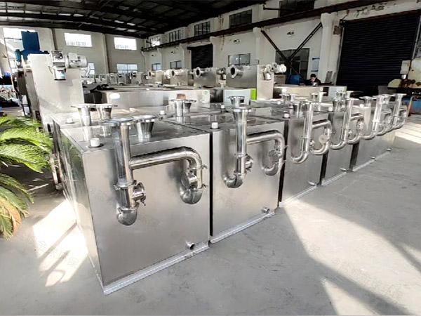负一楼单泵污水隔油提升器可代替三化厕吗