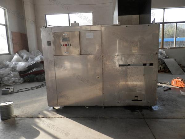 20吨自动上料餐厨垃圾油水分离一体机施工方案