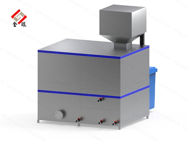 大中型自动化餐厨垃圾减量处理设备定制