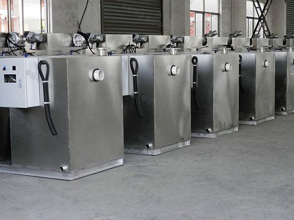 饭店用埋地组合式隔油全自动提升设备的尺寸
