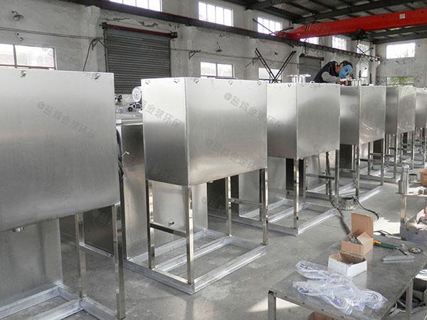 食堂埋地式自动排水隔油器自动提升装置安装位置