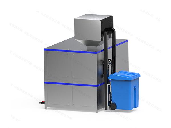 20吨智能餐厨垃圾油水分离一体机方法