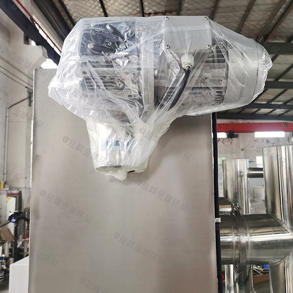 餐厨垃圾室内全自动隔油隔渣设备安装