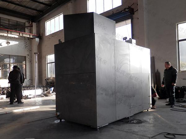 大中型机械式厨余垃圾设备工艺流程图详解
