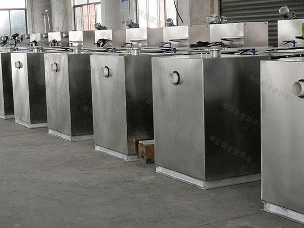 饭店地下室自动除渣隔油除渣器产业