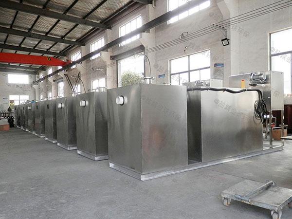 厨房地面式组合式隔油处理器产品