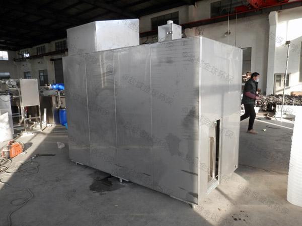 10吨自动化厨余垃圾粉碎处理设备企业电话