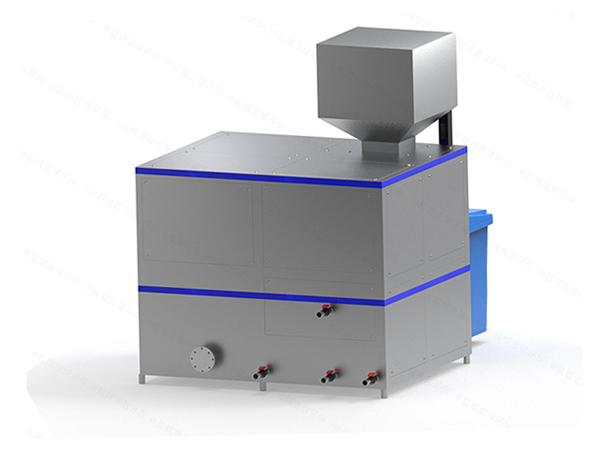 日处理10吨多功能餐厨垃圾破粹设备使用说明