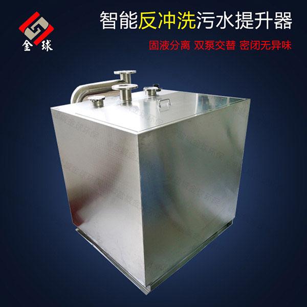 厕所公用污水提升器安装工费