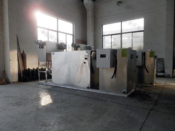 埋地多功能厨房油污水分离装置原理