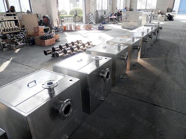 商品房地下室平地式和深坑式污水排放提升设备