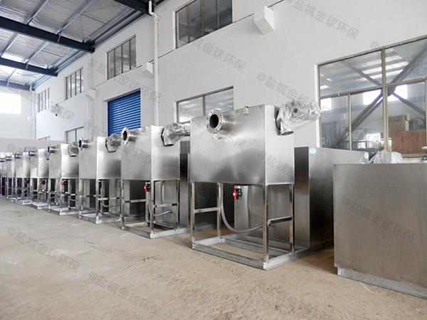 户外自动化餐厨垃圾油水分离设备规格型号及容量