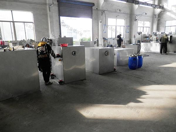 地埋式自动排水厨房油污水分离装置工作原理
