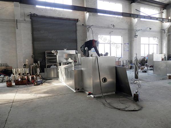 地埋式智能型餐厅油水分离器工作原理