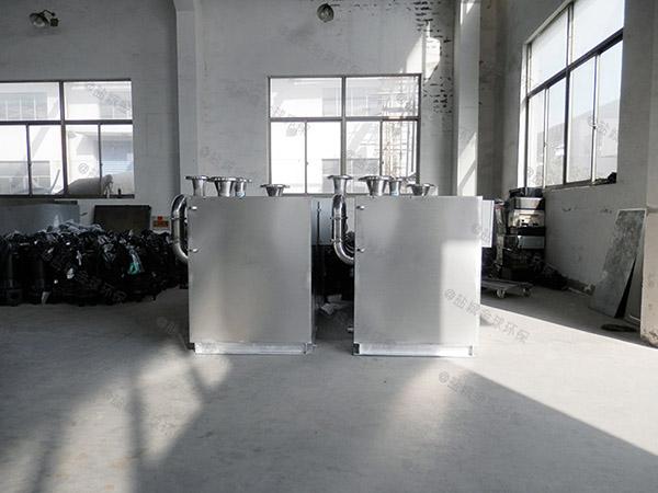 别墅地下室卫生间电动污水隔油提升器怎么预留排水管