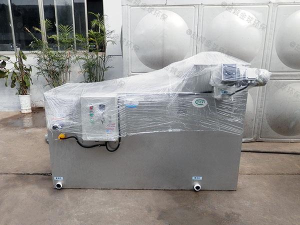 户外无动力餐厨垃圾油水分离设备厂家
