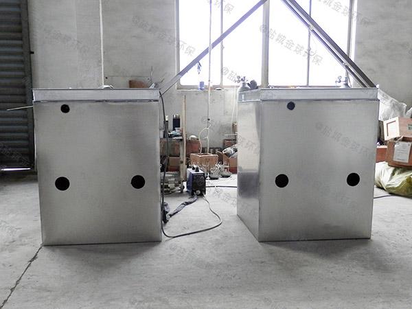 大型会馆地下室高温污水隔油提升器要通过一楼吗